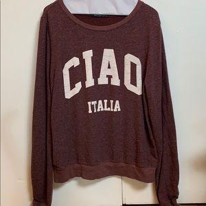 Wildfox Sweatshirt Size M